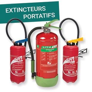 Extincteurs portatifs - Esquive Incendie Niort (79)