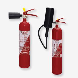 Extincteurs gamme Co2 Exper - Esquive Incendie Niort (79)