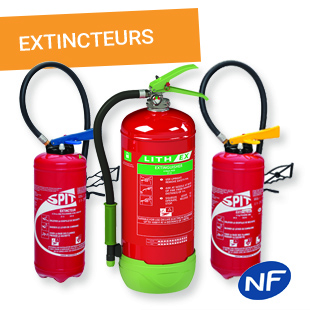 Extincteurs - Vente, installation et maintenance - Esquive Incendie Niort (79)