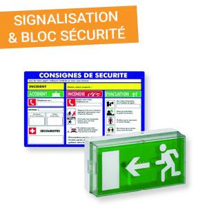 Signalisation et bloc sécurité - Esquive Incendie Niort (79)