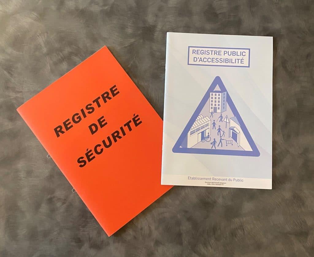 Registre de sécurité - Esquive Incendie Niort (79)