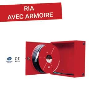 RIA avec armoire - Esquive Incendie Niort (79)