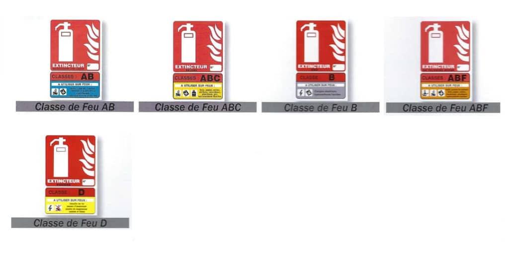 Signalisation extincteurs - Esquive Incendie - Niort (79)