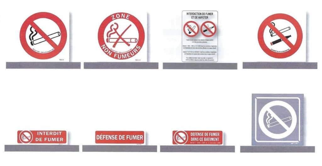Signalisation interdiction de fumée - Esquive Incendie - Niort (79)